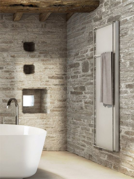 Exceptionnel Oltre 25 fantastiche idee su Bagno in pietra su Pinterest | Design  AJ48