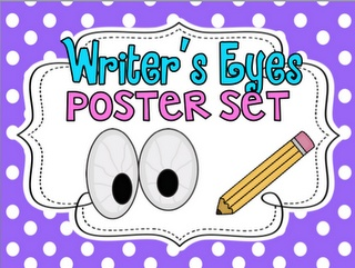 Writer's Eyes Posters