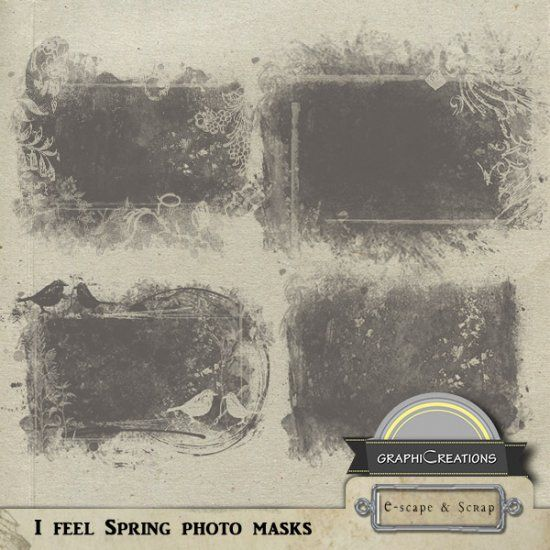 I feel spring photo masks by Graphic Creations