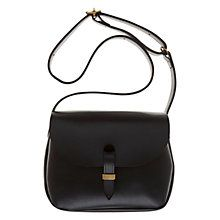 Buy Mimi Berry Peggy Leather Cross Body Handbag, Black Online at johnlewis.com Mimi Berry Peggy Leather Cross Body Handbag, Black £294.00
