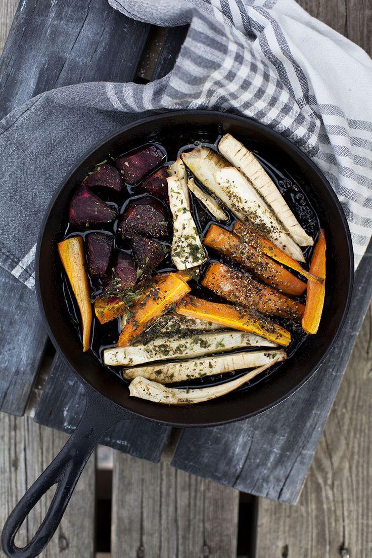 Rostade rotsaker, recept här: http://martha.fi/sv/radgivning/recept/view-93381-3923
