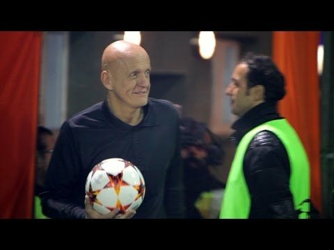 This has to be one of the best EUFA Champions League adverts ever !!!! - Halı Saha Maçında Collina Sürprizi - YouTube