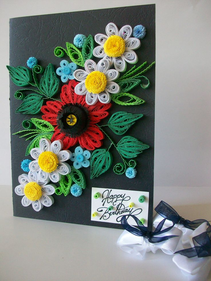 25  best ideas about quilling birthday cards on pinterest