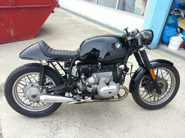 Almost same as mine #caferacer #bmr