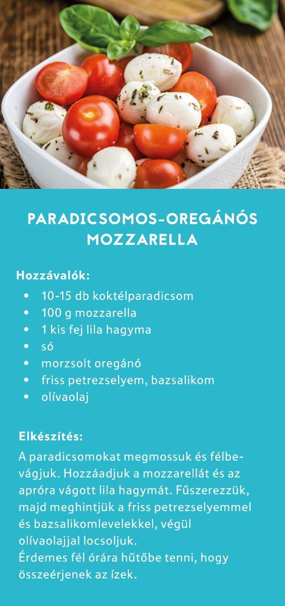 Élvezd a nyár ízeit, készíts paradicsomos-oregánós mozzarellasalátát! #TescoMagyarország #gyorsvacsorák
