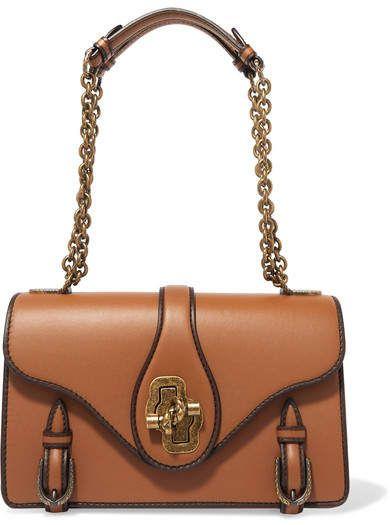 c43c98b129ec Bottega Veneta - The City Knot Leather Shoulder Bag - Tan Tote Handbags