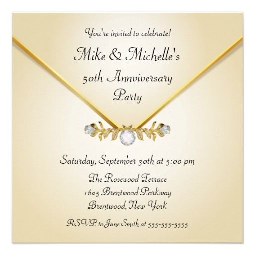 Best Anniversary Invitations Styles Images On