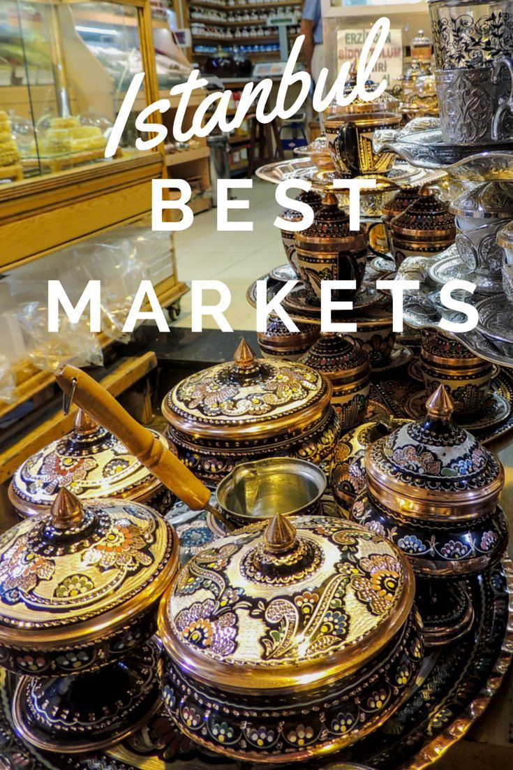My favorite markets and Bazaars in Istanbul! From the Grand Bazaar, to small weekly markets. Click to read more about them!
