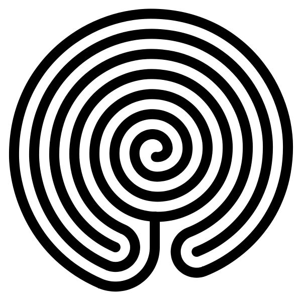 "Labyrinth Maze:  The Chakravyuha.  The Chakravyuh, or Padmavyuh, described in the ""Mahabharata,"" is a multi-tier defensive formation that looks like a blooming lotus (padma, पद्म) or disc (chakra, चक्र) when viewed from above. The warriors at each interleaving position would be in an increasingly tough position to fight.  Some people believe it was this formation that gave rise to the labyrinth."