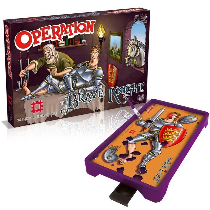 English Heritage Brave Knight Operation Game