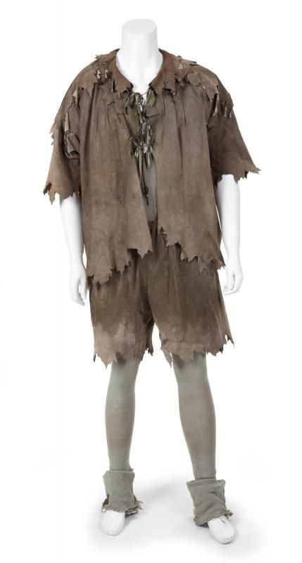 Assuming some scepticism, the user also promises to post the receipt for the outfit, which is described as 'Robin Williams HERO Peter Pan worn costume from HOOK 1991 screen used movie prop. Description from metro.co.uk. I searched for this on bing.com/images