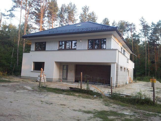 Budowa domu Rezydencja Leśna #budowa #projekt #dom