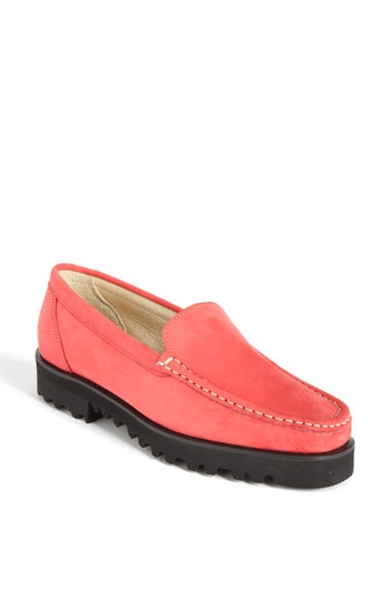 Ron White's 'Rita' loafer in coral nubuck leather, at Nordstrom