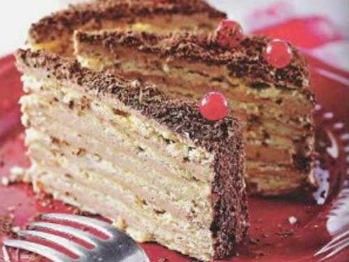 Рецепт торта вырезать середи