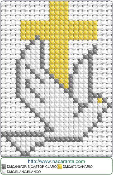 paloma EN PUNTO DE CRUZ, Cross stitch patterns