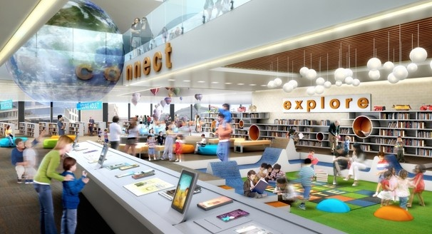 A new look for the MLK Library - The Washington Post