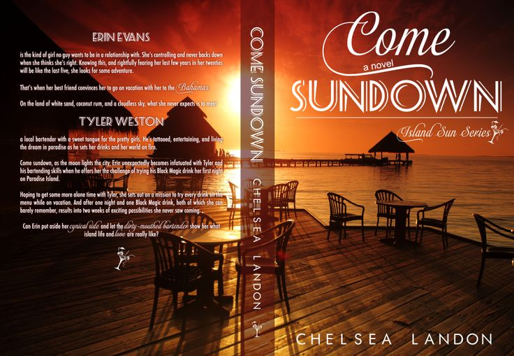 The full wrap cover for Come Sundown by Chelsea Landon