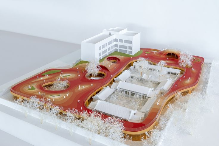 Gallery of MAD Architects Begin Construction on Floating Kindergarten above Historic Beijing Courtyard – 16
