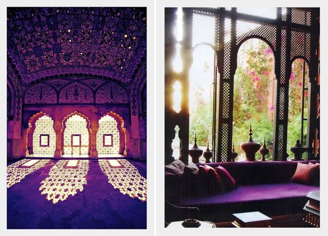 An Indian Summer. Screens and colour.