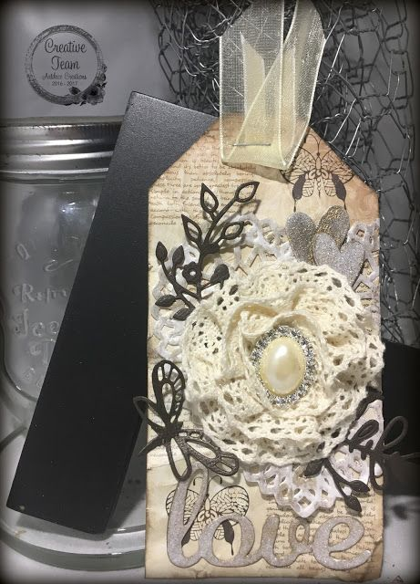 Artdeco Creations Brands: Vintage Tag by Tracey Cooley