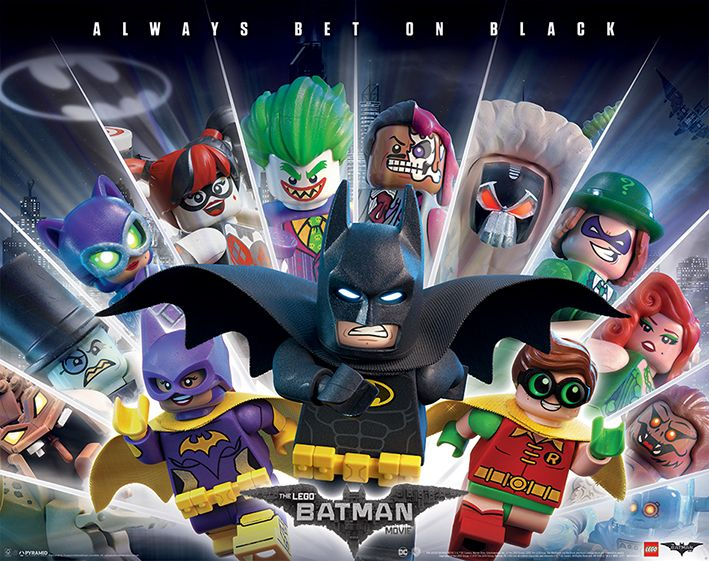 Huge Collection of Delightful Posters for THE LEGO BATMAN MOVIE — GeekTyrant