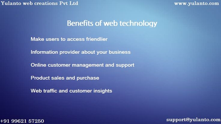 #Web technology has made the more over the #business purposes.Make it visible towards the customer.