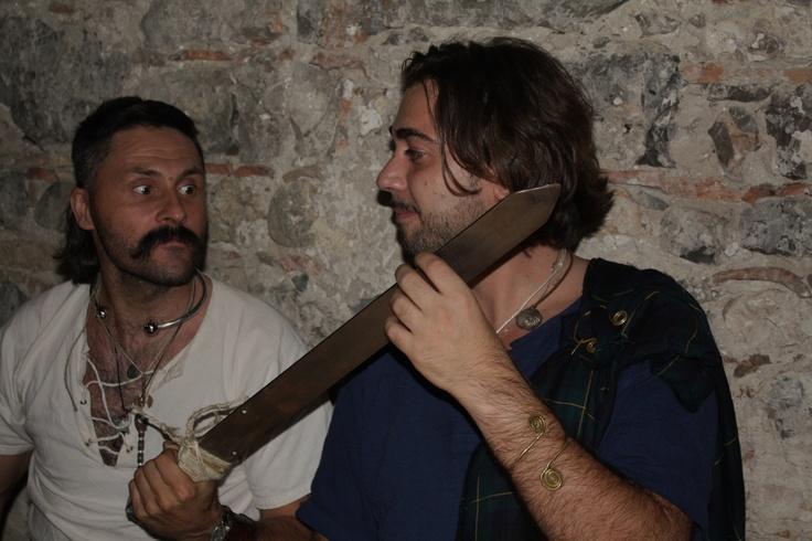 """lezioni di spada tra """"celti ciolti"""" - mabon 2011 ai vecchi ippocastani"""