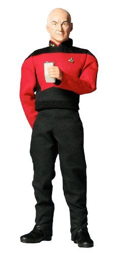 1/6 Action Figure New Star Trek Jean-Luc Picard (Japan Import) @ niftywarehouse.com #NiftyWarehouse #StarTrek #Trekkie #Geek #Nerd #Products