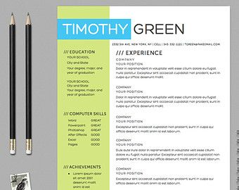 resume templates colorful google search free creative