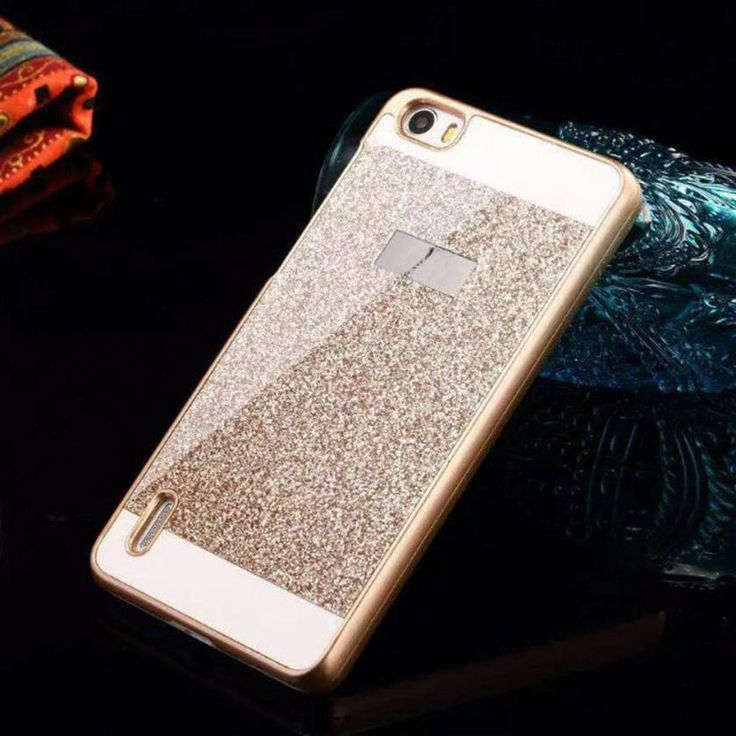 Goedkope superieure bling glitter pc hard case cover skin for Huawei p8 te koop