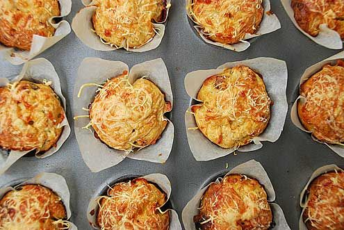 Cheese & Sun Dried Tomato Muffins by yumblog.co.uk, via Flickr