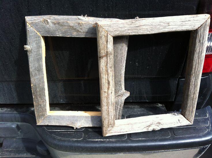 Barn wood Frames, <3