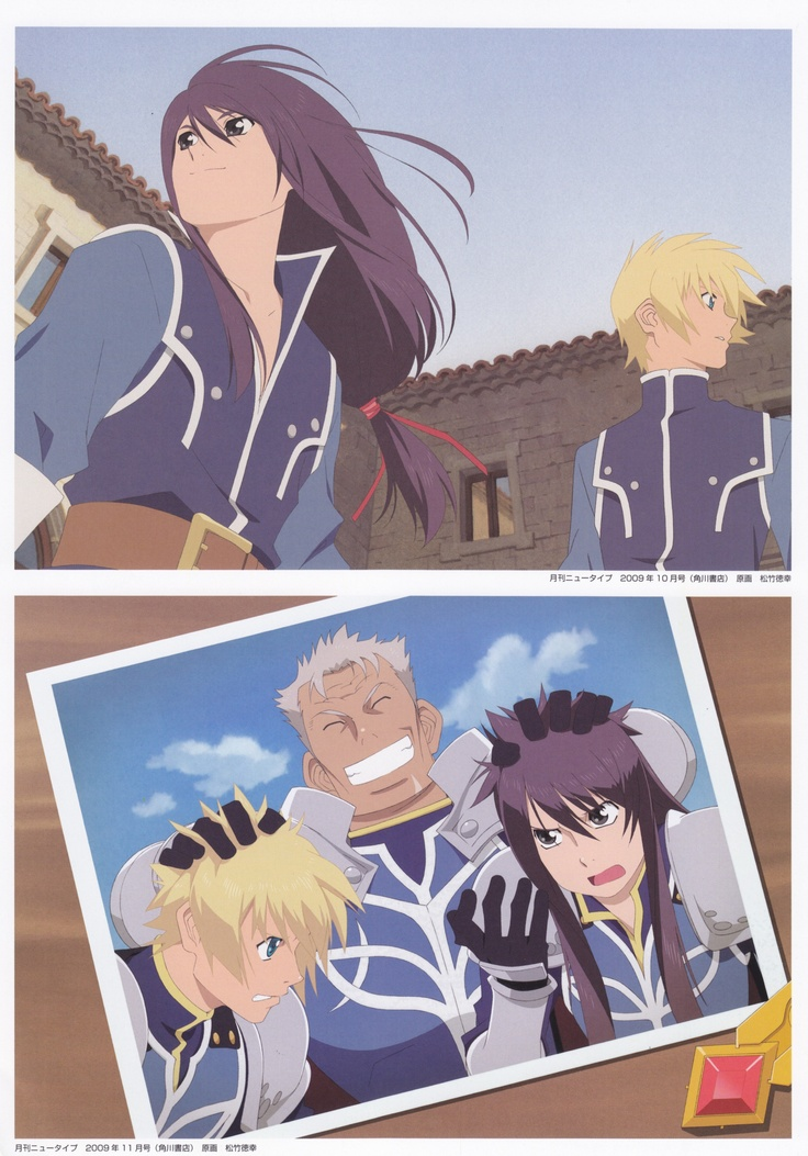 Tales of Vesperia movie ^^ Such a great film!