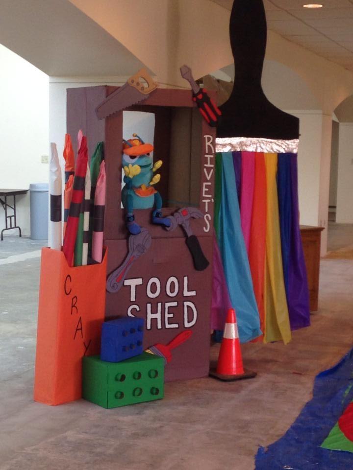 Rivet is having a blast @ New Hope UMC in OKC, OK! www.cokesburyvbs.com