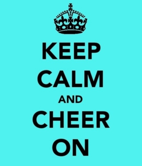 Cheer on!
