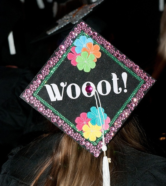 FIDM 2011 Graduation - Decorated Mortar Boards - Staples Center, Los Angeles, California by FIDM, via FlickrGraduation Cap, Decor Ideas, Cap Ideas, 2011 Graduation, Mortar Boards, Ideas Hands Pick, Decor Mortar, Graduation Ideas, Graduation Parties