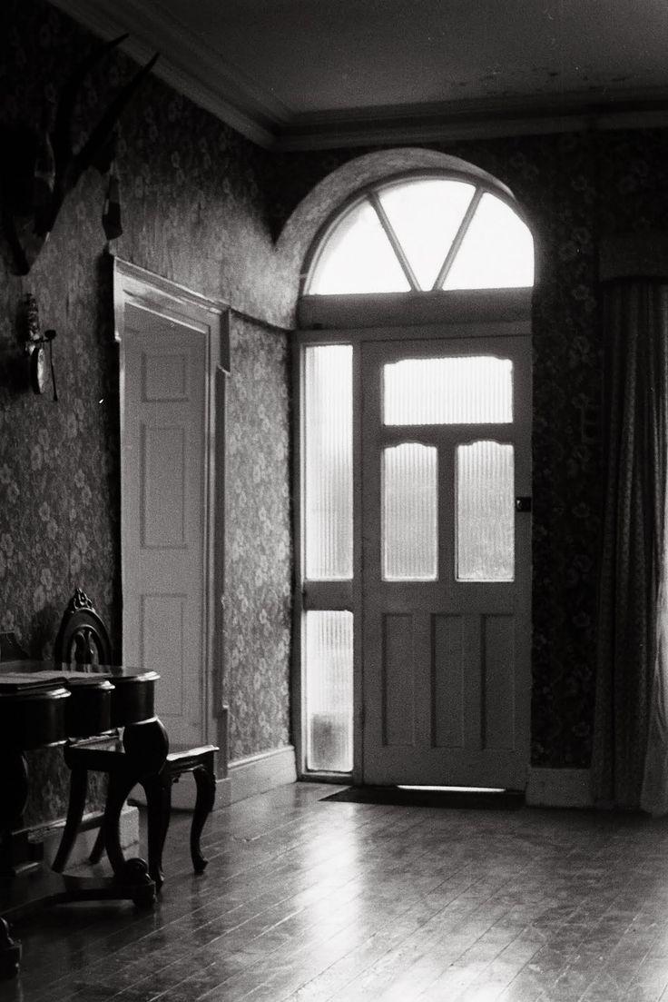 Front hall at Earnan Barron's house (not Dublin-- Ennis, Co. Clare).