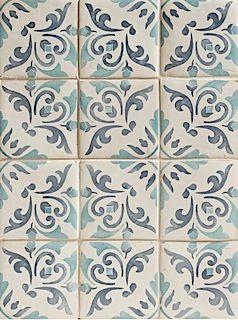 Duquesa Catarina Pattern in Acqua