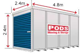 Container Sizes - PODS® Moving & Self Storage