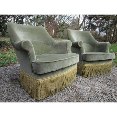 17 meilleures id es propos de fauteuil crapaud ancien sur pinterest chais - Fauteuil scandinave occasion ...