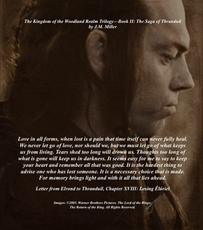 Elrond Quotes: 174 Best Images About The Kingdom Of The Woodland Realm