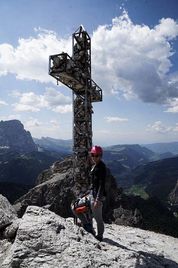 Klettersteige in den Dolomiten: Dreimal Spaß und Abenteuer