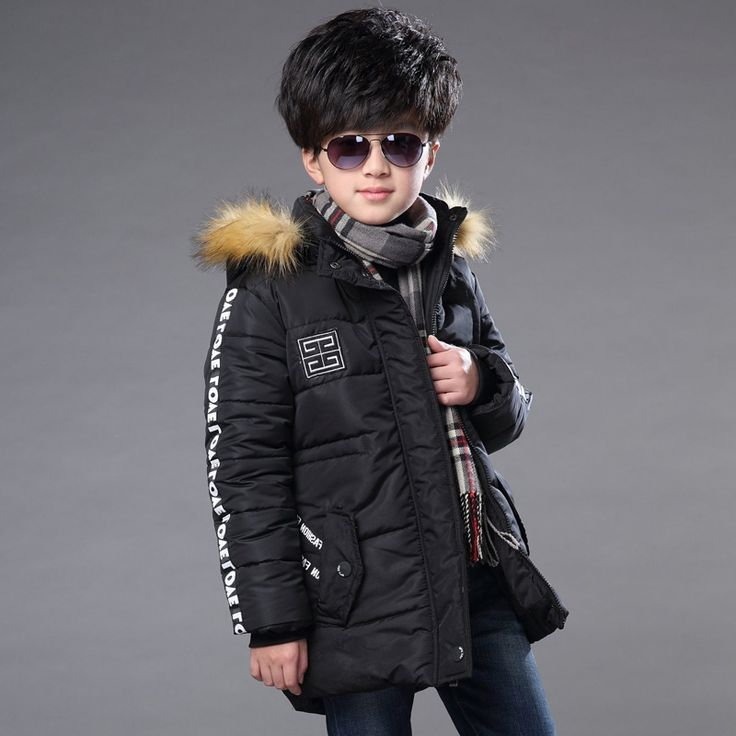 50.00$  Watch now - http://ali2z9.worldwells.pw/go.php?t=32743958092 - Boy padded jacket new winter 2016 fashion baby boy clothing big virgin thick down jacket 5/6/7/8/9/10/11/12/13/14 years