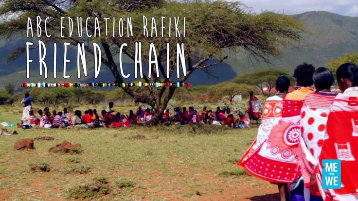 ABC Education Rafiki. Change the world by buying a rafiki that will allow you to buy one year's worth of school supplies for a child.