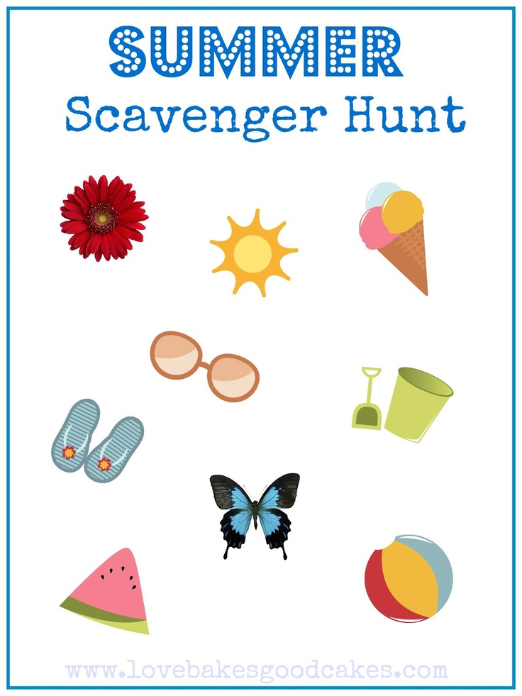 The summer vacation treasure hunt 2