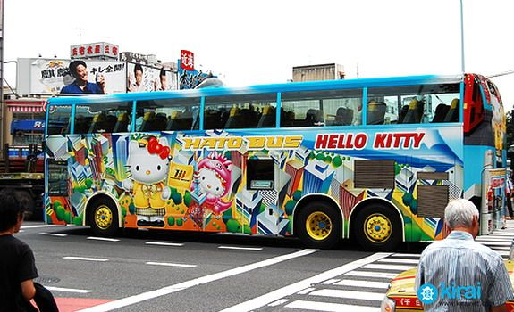 Hello Kitty Bus: Buses, Search, Bus Adverti, Hello Kitty Bus Jpg 575 350, Japan Autobus, Awesome Pin, Art Kawaii, Hellokitti, Con Google