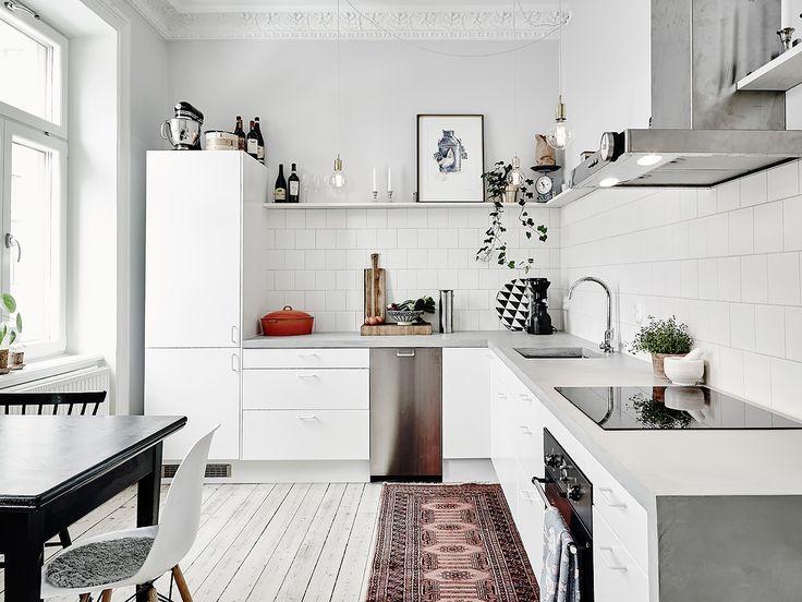 I wish I lived here: 3 beautiful Scandi kitchens