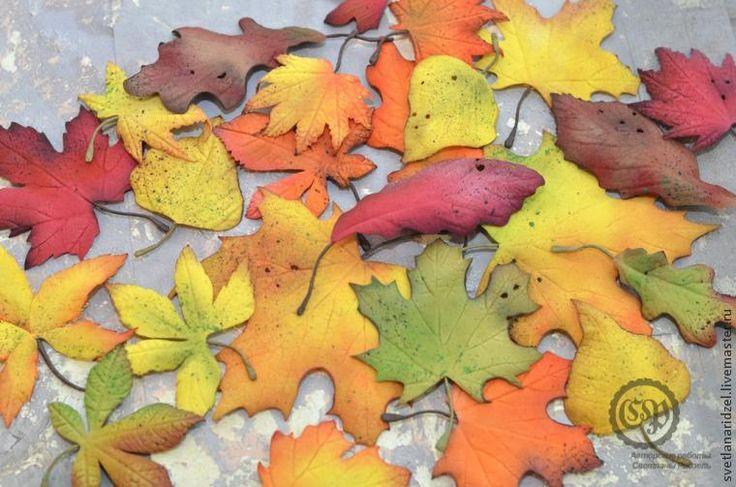 Создаем осенние листочки из фоамирана: часть 1 - Ярмарка Мастеров - ручная работа, handmade
