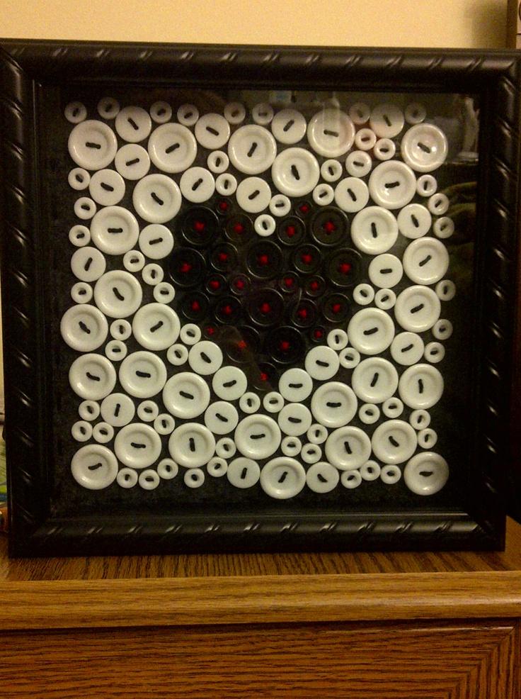 my little black (button) heart