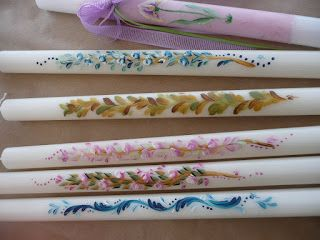 Asimina's Art.. Μαθήματα Ζωγραφικής One Stroke: ΠΑΣΧΑΛΙΝΕΣ ΛΑΜΠΑΔΕΣ